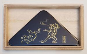 象彦-鳥獣戯画-生八つ橋皿